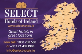 Select Hotels of Ireland map